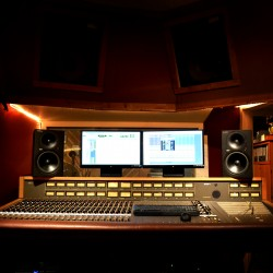 control room with mci jh600 console welcome music recording studio